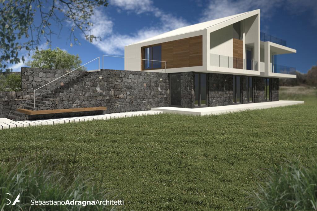 Villa tra gli Ulivi - Rendering