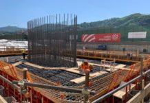 Ponte Morandi: prima colata di cemento. Inizia ufficialmente la ricostruzione