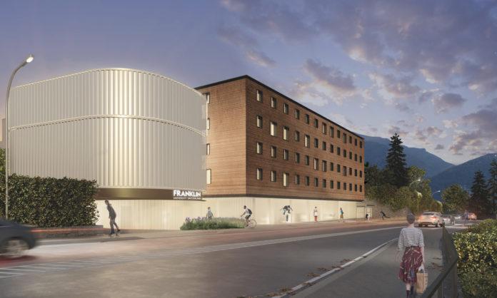 Rendering progetto FUS di Flaviano Capriotti Architetti