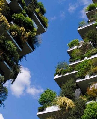 Il complesso del Bosco Verticale a Milano - Rapporto Italia Sostenibile