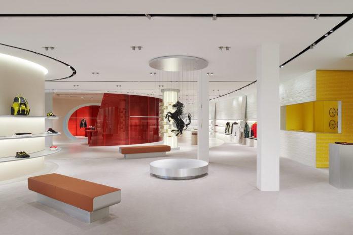 Concept store Ferrari a Maranello