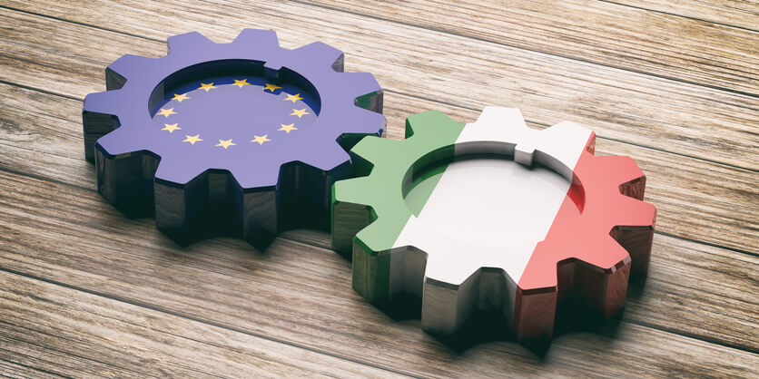 Grafica sull'impegno condiviso dal Consiglio Ecofin e dall'Italia